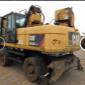 Escavadeira De Pneus Caterpillar M322DMH